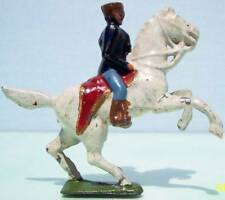 Eureka Toy Soldiers Hollow Cast Lead Mounted Marine Officer On Rearing Horse 95%