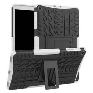 """Hard Rubber Stand Case Cover For Samsung Galaxy Tab A E S2 3 4 7"""" 8"""" 9.7"""" 10.1"""""""
