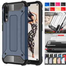 For Hauwei P20 Pro/P20 Lite Armor Case Shockproof PC TPU Hybrid Hard Cover Shell