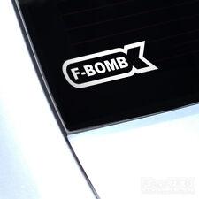 F BOMB Decalcomania in Vinile Adesivo FCK per piccolo Fatlace illmotion JDM ill DRIFT Divertente