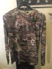 UNDER ARMOUR ( CAMOUFLAGE ) RIDGE REAPER LONG SLEEVE SHIRT.( FOREST) SIZE -XL.