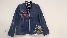 NWT AN FOR ME SIZE M JEAN JACKET NEW YEAR 4TH OF JULY USA FLAG THEME STYLE $930