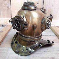 Antique Diving Diver's Helmet Vintage US Navy Mark V Nautical Maritime Gift