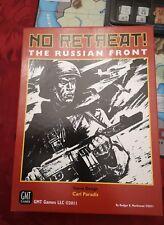 Jeu de plateau wargames  NO RETREAT THE RUSSIAN FRONT GMT GAMES