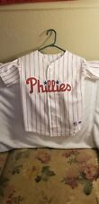 PHILADELPHIA PHILLIES JERSEY - YOUTH SMALL - THROWBACK - MAJESTIC - #25