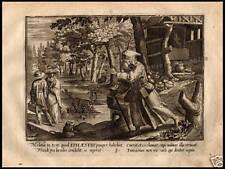 INCISIONE 1620 SANT' EPHAESTIO EFESTO