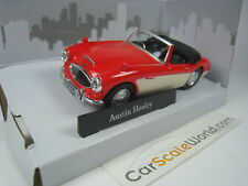 Austin Healey 1/43 Cararama (red/beige)
