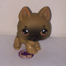Littlest PetShop Chien BERGER ALLEMAND 61 DOG Pet Shop J02