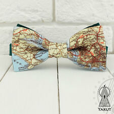 World Map Bow Tie, Earth map bowtie, Bowtie geographic, Bow ties for geographer,