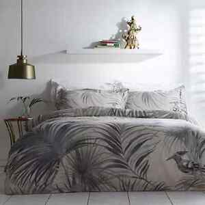 Valeron Caruso Luxury Printed 220 Thread Count Cotton Sateen Duvet Cover -DOUBLE