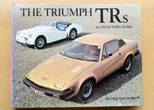 The Triumph TRs. A Collector's Guide: Graham Robson. 1977. Hardback.
