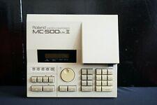 Roland MC-500 MK II 2 Vintage 80's Micro Composer Sequencer MIDI Recorder