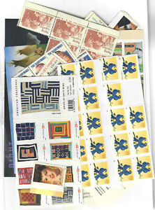 US $70.00 FACE MINT / NH POSTAGE LOT of MOSTLY 20¢ - 39¢ VALUES!