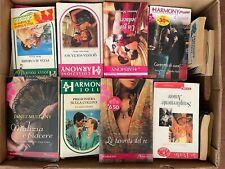 Harmony - Lotto di 120 romanzi  - varie serie - FOTO INDICATIVE - USATI