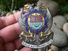ACRYS - CIRCLE OF MOTORISTS  AUTOMOBILE CLUB OF YUGOSLAVIA / CROATIA - Car Badge
