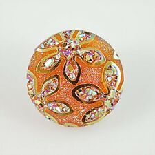 Fits Ginger Snap Ginger Snaps Resin Magnolia Vine Jewelry Button Charm 18mm