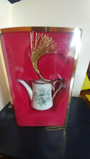 Lenox Holiday Teapot Christmas Holly Ornament in Box #6026587