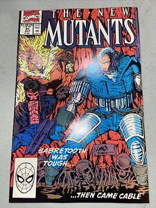 The New Mutants #90 July 1990 Marvel