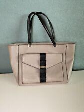 Kate Spade New York beige & black tote handbag