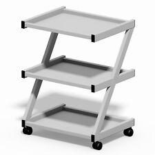 Three Shelf Instrument Dressing Tool Trolley