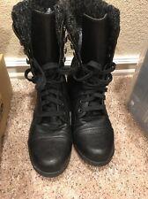 Unr8ed Mid-calf Black Boots Size 8m