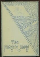 1947 Englewood Colorado High School  Yearbook - The Pirate Log, Nice Condition