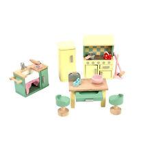 Le Toy Van ME059 Daisylane Küchen-Set Küche 1:12 für Puppenhaus Holz NEU!     #