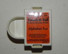 Touch & Tell Alphabet Fun Cartridge Texas Instruments R18971