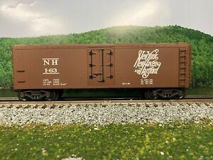 O Scale - K-Line K642-1791 New Haven Wood Side Reefer NH I-73 O4845