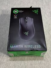 Razer Mamba Wireless Advanced Optical Gaming Mouse True 16K DPI RZ01-02710100