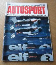 Autosport marzo 8th 1973 * * Gran Premio de Sudáfrica