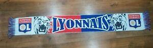 Olympique Lyonnais football scarf