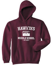 Hawkins Middle School AV Club Hoodie - Stranger Things Hoodie