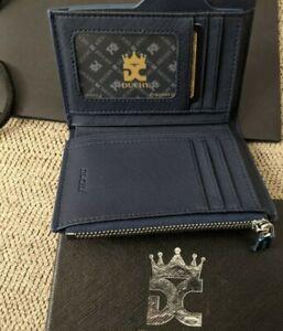 Duchy Men's Wallet, Leather RFID Bifold Slim Credit Card Case, w/Gift Box, NEW