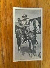 ABC A.B.C. minors cinema trade card: Film Stars no. 1 Roy Rogers