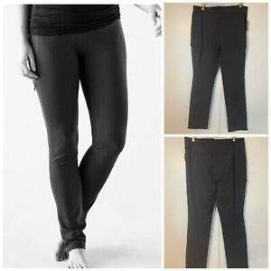 Duluth Trading NoGA Women's Stretch Slim Leg Black Activewear Pants Size XL x 33