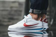 MENS NIKE CORTEZ ULTRA MOIRE SIZE UK 8 / 8.5 (845013 100) WHITE/ BLUE/ RED