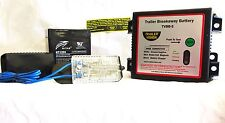 Breakaway  Battery Kit with Low Battery Alarm Horse Floats, Trailers,