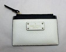 NWT Kate Spade Adi Grove Street Slim Card Case Wallet - Offshore Navy & Cement