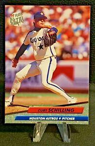 1992 Fleer Ultra⚾Baseball #208 Curt Schilling (Astros).  💎NM/MT💎
