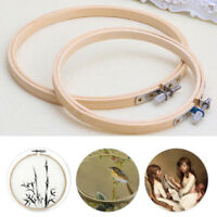 Embroidery Hoop Tambour Embroidery Bamboo Circle Embroidery Cross Stitch*