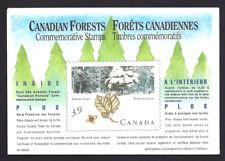 Canada  # 1283  CANADIAN FOREST COMPLETE  COMMEMORATIVE SET  VF-NH