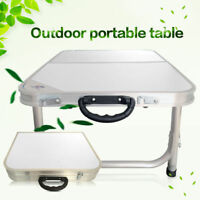 Aluminum Portable Folding Table Indoor Outdoor Picnic Party Camp Foldable Desk