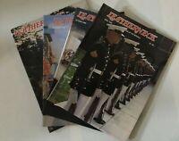 LEATHERNECK MAGAZINE OF THE MARINES USMC 1985 (4 issues)