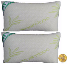 New Luxury Memory Foam Bamboo Pillow Neck-Head-Back Support-Anti-Bacteria