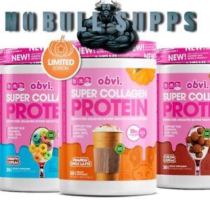 OBVI - Multi-Collagen Super Protein Powder, Keto Friendly Dairy, Gluten Free
