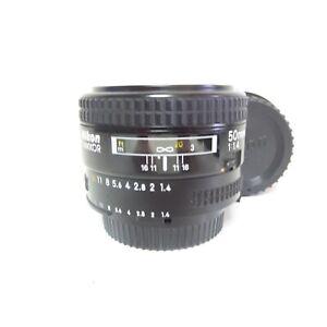 EXCELLENT Nikon NIKKOR 50mm f/1.4 AF Prime Fast Nikon F-Mount Lens