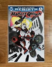 DC Comics Harley Quinn Rebirth #1 Dimension X Comics Variant Sketch Cover Rare