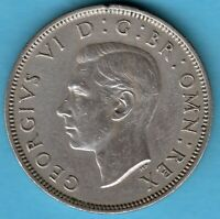 Great Britain -1950 - George VI.- Florin -Two Shillings Copper-Nickel Münze