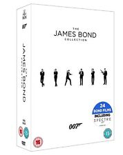 "JAMES BOND COMPLETE COLLECTION 1-24 DVD BOX SET 24 DISCS 2017 EDITION R4 ""NEW"""
